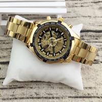 Gli uomini migliori sport di vendita orologio sportivo meccanico moda casual luminoso vuoto automatico orologio meccanico orologio automatico