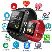 ساعة بلوتوث الذكية، U8 SmartWatch Mobile Watch U8، شاشة تعمل باللمس الرخيصة التي تعمل باللمس U8 U80 U8 ساعة ذكية مع U8 Bluetooth SmartWatches