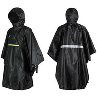 Men Women Raincoat Waterproof Rainwear Coat with Reflector R...