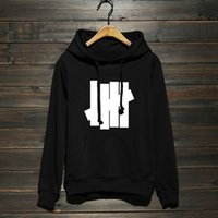 New Undefeated Hoodies 19SS Mens Hip Hop Straße Sport Stylistin Hoodies Frauen Loose Fit Aufmaß Sweater