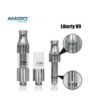 100% Original Liberty V9 Empty Vape Pen Cartridges Top Airfl...