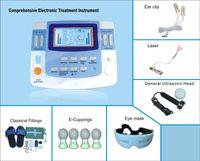 새로운 초음파 물리 치료 Needleless 전자 침술 장치 전자 펄스 자극기 레이저 자기 기계