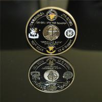 Freies Verschiffen 1pcs / lot, Marine-Gedenkherausforderungs-Münze 50mm * 3mm der Operation NEPTUNE SPEAR 160. SOAR SEAL Team 6