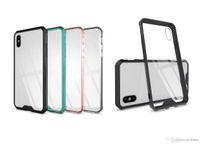 Armor 투명 Clear Air 하이브리드 폰 케이스 iPhone 6 7 8 Plus X XS MAX Samsung Note 9 S8 S9 A8 2018 Plus TPU 범퍼 커버 OPP Bag