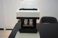Kaibaicen 2 세대 음식과 커피 잉크젯 프린터 아트 커피 라떼 커피 케이크 피자 빵 살라 프린터 CE 인쇄 4 컵