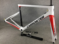 80 Cores Mistura Brilhante Mistura de Carbono Estrada de Carbono Frames UD Weave Bicicleta Forquilha Forquilha Estilo Headset Braçadeira