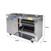 Commercial en acier inoxydable pain cuit à la vapeur Machine de fabrication électrique pâte sphérique machine automatique de pain cuit à la vapeur de la machine de formage 60-200g