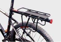 MTB portador de carga trasera del asiento del estante del estante de bicicletas equipaje estante de acero se puede cargar alta calidad del envío