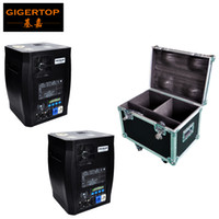 Gigertop 600W Kaltfeuerwerk DMX Control High Power Sparcular Bühneneffektmaschine LED Display 2IN1 Flightcase Verpackung