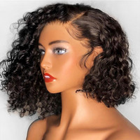 13x6 Deep Part Curly Lace Front Wig With Baby Hair Pre Pluck...