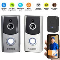 نظام الأمن حلقة الذكية فيديو جرس الباب لاسلكية واي فاي الهاتف الباب البصرية كاميرا