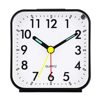 Silent Alarm Clock Electronic Digital LED Night Luminous Chi...