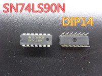 20pcs / lot Circuitos Integrados Nueva 74LS90 chip de HD74LS90P SN74LS90N DIP14 Contador en el envío libre