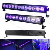 LED Efektler UV 9LEDS 12LEDS Duvar Lambası Alüminyum Alaşım Alway DJ Ekipmanları Için Sahne Işık Noel Hollowen Efekt Işıkları DHL