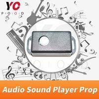 YOPOOD Audio lettore audio prop Takagism gioco vera e propria sala giochi di fuga musica suono audio quando rilevare umana per creare atmosfera