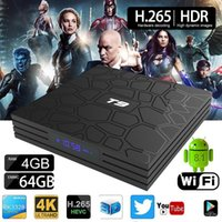T9 64GB Android 8. 1 Smart TV BOX RK3328 Quad Core 4K HD Medi...