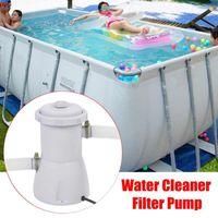 220V Elektrofilterpumpe Pool Filterpumpe Wasser Clean Clear Schmutzige Pool Teichpumpen Zubehör