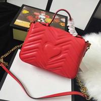 Avrupa ve eğimli içinde% 100'lük Tasarımcı çanta omuz çantası kaliteli hakiki deri messenger çanta