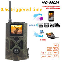 Wild Camera Photo Traps Digital Hunting Wildlife Cameras SMS MMS HC550M Photo Traps MMS Hunter Trail Cams