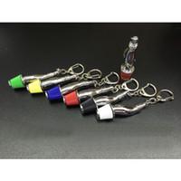 50PCS / 많은 자동차 부품 체인 버섯 헤드 열쇠 고리 자동차 열쇠 고리 에어 필터 키 체인 장식 열쇠 고리