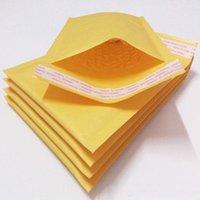 HOT nuova 10 * 20cm quattro centimetri (15 * 30cm, 30 * 40cm, 40 * 50cm) Kraft bolle bollettini buste Wrap sacche imbottite busta posta imballaggio del sacchetto trasp