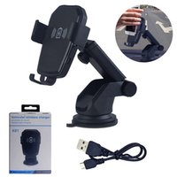 Qi Certified 10 W Fast Wireless Charging Car Phone Holder Gr...