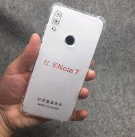 1,5 мм Подушка безопасности Прозрачные прозрачные четкие чехлы TPU Cover для Xiaomi 9 SE Pro Redmi Note 9 Примечание 8 PRO 8A 7A 100 шт. / Лот