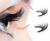 Entrega rápida 3D Magnetic Lashes Eye Três Magnetics Falso Cílios Extensão 3D Onda completa Faixa Cílio Falso Magnetic Cílios Eye Makeup