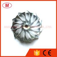 터보 CHRA에 대한 TD04HL 49.04 / 60.13mm 11 개 + 0 블레이드 앞으로 고성능 터보 빌릿 압축기 휠 / 알루미늄 2618 / 밀링 휠
