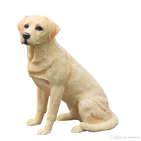 Labrador Retriever Dog Figurine Hand Carved Crafts resin dog...