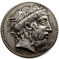 G (09) Rare Ancient Greek Coin -415 Tetradrachm Copy Coins Wholesale