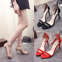 The new 219 women' s sexy high- heeled sandals personalit...