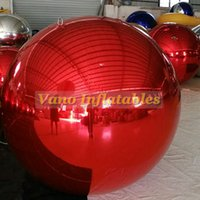 디스코 파티시 무료 배송 상업 활동을위한 풍선 거울 풍선 아름다운 컬러 장식 볼