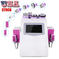 6 IN 1 Home Use Effective 40K Vacuum Ultrasonic Cavitation R...