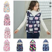 Kids Coats Cartoon Toddler Girl Hooded Jackets Kid Boys Vest...