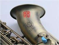 Vaka ağızlığı ve Japonya KUNO KTS-901VL Tenor Saksafon Antik Bakır bemol Sax Profesyonel Müzik aleti