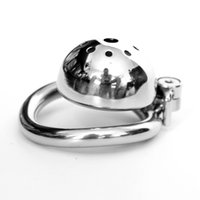 Screw Lock Male Chastity Device Stainless Steel Super Small ...