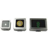 Küçük Gevşek Elmas veya Gem Taş Ekran Metal Kutu Kutu Saklama Kabı Takı Taşlar Tutucu Taş Organizatör ZC0238