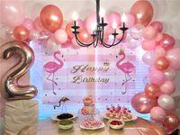 Neue Valentinstag-Geburtstag-Ballon-Set Hochzeitsballons Festival-Party-Versorgung Dekoration Ballons Kinder Mädchen Geschenke 124pcs / satz E32502