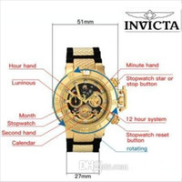 Dropshipping High quality swiss cosc INVICTA unbeaten model ...