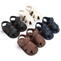 Summer Baby Boys Girls Shoes Baby Toddler Boys Cute Crib Sho...