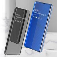 Originale Smart specchio Cassa Del Telefono Per Samsung Galaxy S20 Ultra S10 Più S9 S8 Nota 10 9 8 A70 A50 A50s A40 A30 A30S A20 A20S A10S A20E