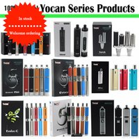 Authentisches Yocan Loaded Evolve Plus XL-Kit Evolve Yocan Hive Evolve-C Evolve-D-Kits E-Zigaretten-Wachs-Verdampfer-Trocken-Kräuter-Vape-Pen-Kits AT208