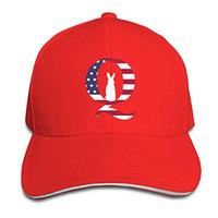 QAnon Q حالا الأرنب للجنسين قابل للتعديل قبعات البيسبول الرياضة في الهواء الطلق الصيف القبعة 8 ألوان الهيب هوب جاهزة كاب موضة