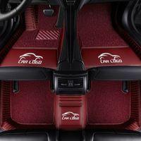 Tapis de sol en voiture pour logo Chevrolet Lacetti Sonic Aveo T250 T300 tahoe Captiva 2008 Tous les modèles 2010 cruze pied badge voiture Pads
