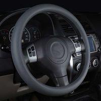 Coche de estilo Silicone Dirigido Guante Cubre Automóviles Volante Hubs Accesorios para Honda Toyota BMW Lada Kia, etc.