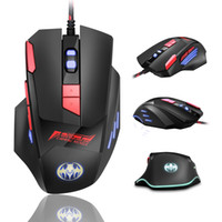 BLOODBAT USB Ratos Wired Optical 3200dpi Computer Gaming Mouse 7-Key incandescência Respirar Luz Firepower Key Wired Rato DHL frete grátis