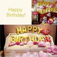 Festa de Natal de 16 polegadas Ballons aniversário alfanumérico festival de balão Evento Decoração do casamento decoração do partido balão Moda YSY87Q