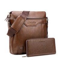 Portátil Trabalho Mão Escritório de Negócios Masculino Messenger Bag Men Pasta Para Documentos Handbag Satchel Portfolio Brief Case Partfel CJ191212