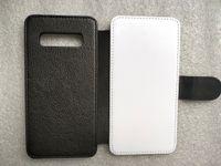 PU samsung S10 S9 S8 플러스 S7 S6 가장자리 S5 S4 S3에 대 한 가죽 승화 전화 케이스 미니 열 프레스 폴 리 에스테 르 천으로 100pcs 혼합 할 수 있습니다.